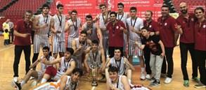 U18 Erkek Basketbol Takımımız Türkiye Şampiyonu