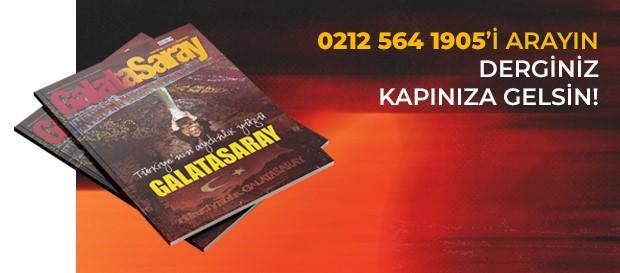 Galatasaray Dergisi kapınıza gelsin!