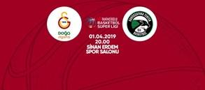 Maça doğru | Galatasaray Doğa Sigorta – Darüşşafaka Tekfen