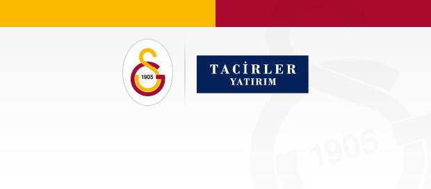 Tacirler Yatırım, 1 yıl daha Galatasaray'ın sponsoru oldu