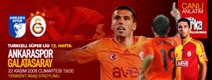 Maça Doğru: Ankaraspor – Galatasaray