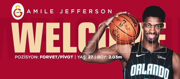 Amile Jefferson Galatasaray'da!