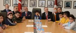 Şehit ve Gazilerimizin çocukları Türk Telekom Stadyumu'nda