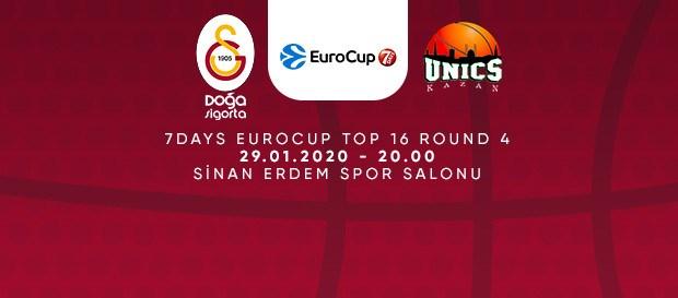 Maça Doğru | Galatasaray Doğa Sigorta - Unics Kazan