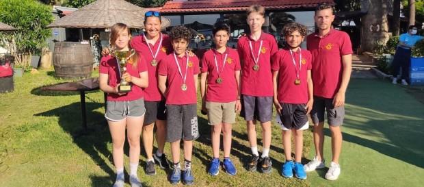 Açık Optimist Takım Yarışı İstanbul Şampiyonası Yelken Yarışları'nda şampiyon Galatasaray