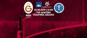 Maça doğru   Galatasaray HDI Sigorta - Aydın Büyükşehir Belediye