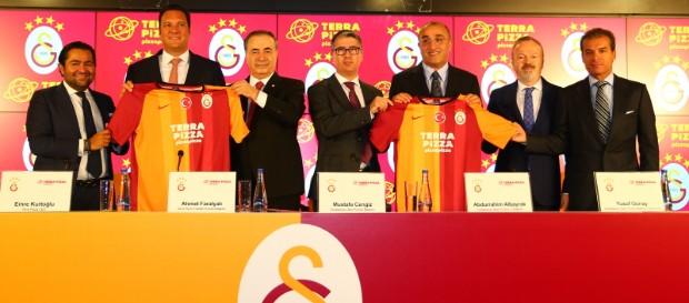 Kulübümüz ile Terra Pizza arasında sponsorluk anlaşması imzalandı