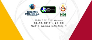 Maça doğru | Grupa Azoty Chemik Police - Galatasaray HDI Sigorta