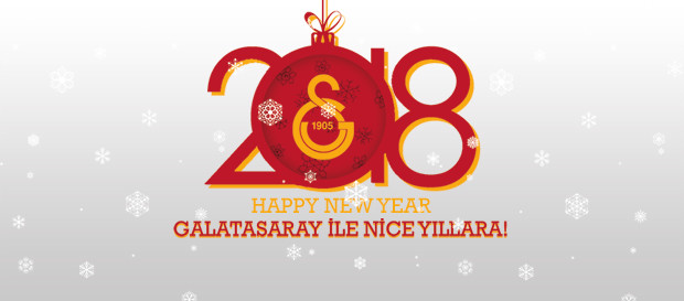 Galatasaray mutlu yıllar diler