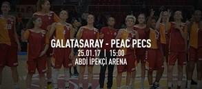 Maça doğru | Galatasaray – PEAC Pecs