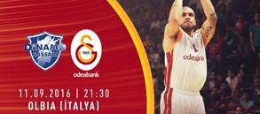 Maça Doğru: Dinamo Sassari – Galatasaray Odeabank