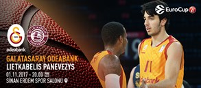 Maça doğru | Galatasaray Odeabank – Lietkabelis Panevezys
