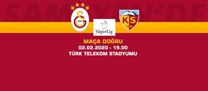 Maça Doğru   Galatasaray - HES Kablo Kayserispor