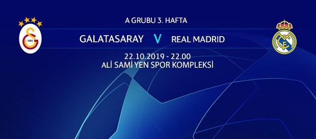 Maça doğru   Galatasaray – Real Madrid