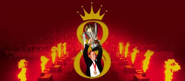 Fatih Terim'in 8. Şampiyonluğu!