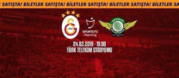 Akhisarspor maçı biletleri satışta