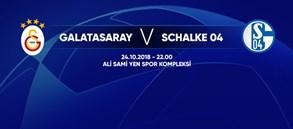 Maça doğru | Galatasaray - FC Schalke 04
