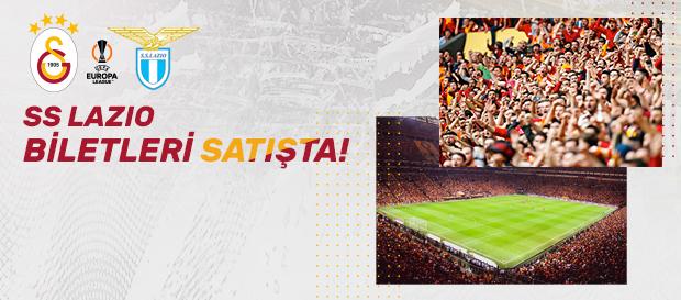Lazio maçı biletleri satışa çıktı!