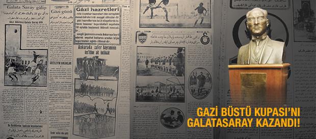 O GÜN  | Gazi Büstü Galatasaray'ın