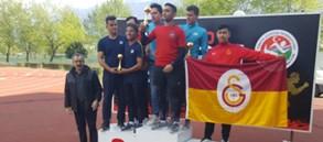 Galatasaray Nurullah İvak Atmalar Şampiyonası'nda üçüncü