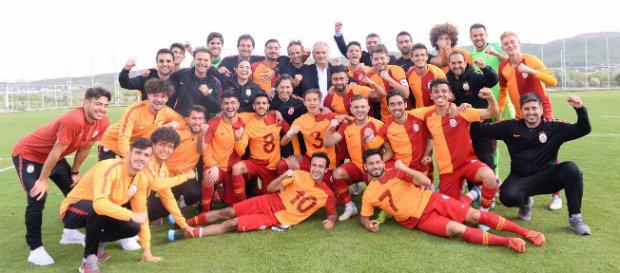 U21 Ligi'nde Şampiyon Galatasaray