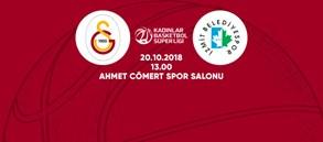 Maça doğru | Galatasaray - İzmit Belediyespor