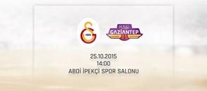 Maça Doğru: Galatasaray Odeabank - Royal Halı Gaziantep