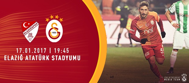 Maça doğru   Elazığspor - Galatasaray