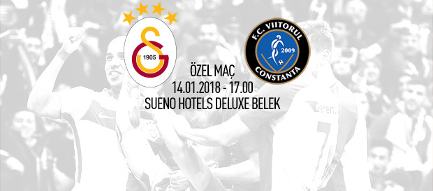 Galatasaray – Viitorul Constanta maçı GSTV'de