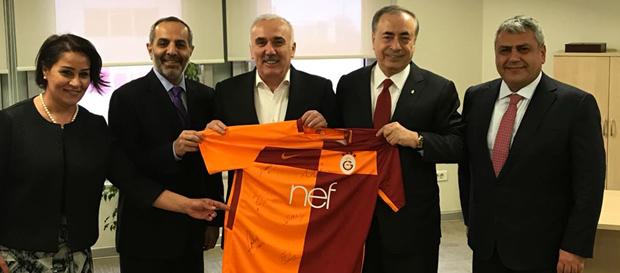 Başkanımız Mustafa Cengiz'den Hüseyin Aydın'a nezaket ziyareti
