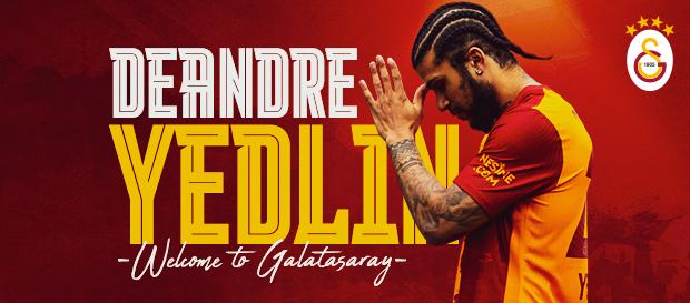 Hoş geldin DeAndre Yedlin!