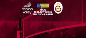 Maça doğru | Trentino Itas - Galatasaray