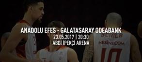 Maça doğru   Anadolu Efes – Galatasaray Odeabank