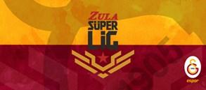 Galatasaray Espor Zula Süper Ligi'nde normal sezonu lider bitirdi