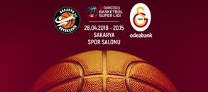 Maça doğru | Sakarya Büyükşehir Basketbol – Galatasaray Odeabank