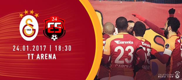 Maça doğru | Galatasaray - 24Erzincan