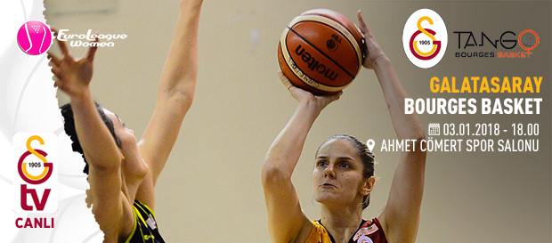 Maça doğru | Galatasaray – Bourges Basket
