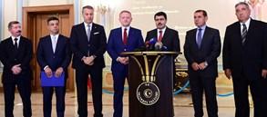 Dursun Özbek: Derbi Türkiye'ye Örnek Olsun