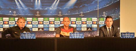 Basın Toplantısı: Roberto Mancini – Felipe Melo