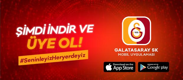 Galatasaray Resmi Mobil Uygulaması App Store ve Play Store'da