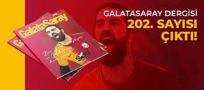 Galatasaray Dergisi'nin 202. sayısı GS Store'larda