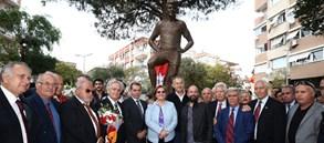 Metin Oktay Heykeli açılışı yapıldı