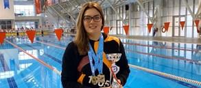 Nilay Erkal iki kategoride Türkiye Şampiyonu