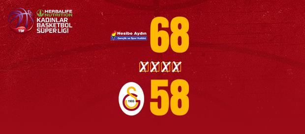 Nesibe Aydın 68-58 Galatasaray