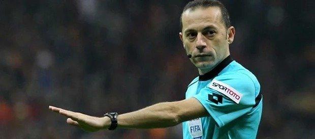 Antalyaspor maçının hakemi Cüneyt Çakır
