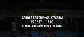 Maça doğru | Sarıyer Belediye - Galatasaray