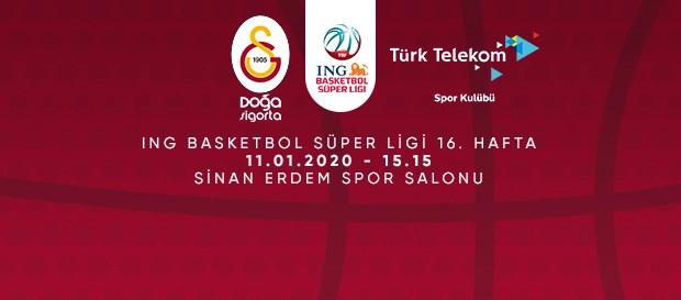 Maça Doğru | Galatasaray Doğa Sigorta - Türk Telekom