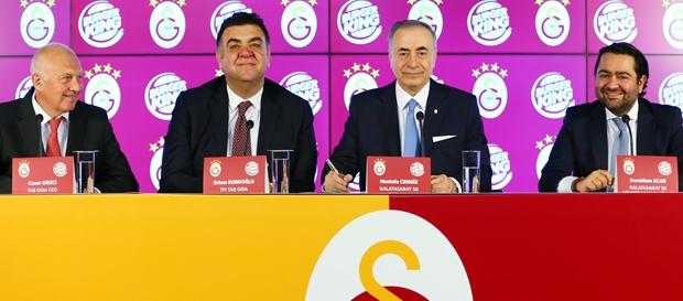 Galatasaray ile TAB Gıda arasında iş birliği anlaşması imzalandı