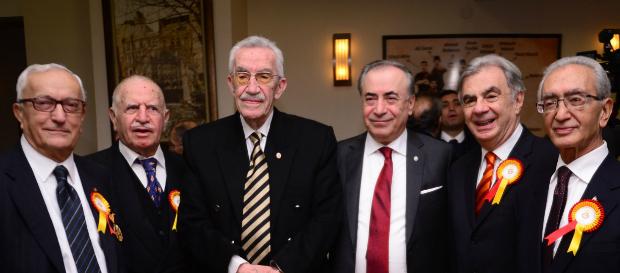 Ankara Galatasaraylılar Birliği'nin 81. yılı Kızılay'daki Galatasaraylılar Evi'nde kutlandı