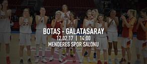 Maça doğru | Botaş – Galatasaray